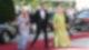 Markus Söder und Gattin sowie Angela Merkel 2019 bei den Bayreuther Festspielen